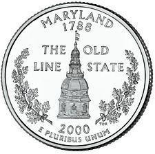2000 P  MARYLAND STATE QUARTER
