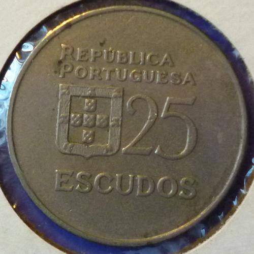 Portugal 25 Escudos 1982 km 607a