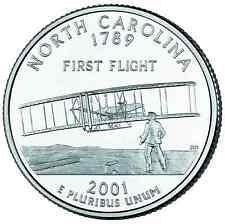 2001 P  NORTH CAROLINA STATE QUARTER