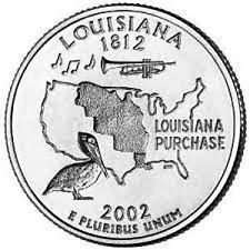 2002  D  LOUISIANA   STATE QUARTER