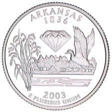 2003  P  ARKANSAS   STATE QUARTER