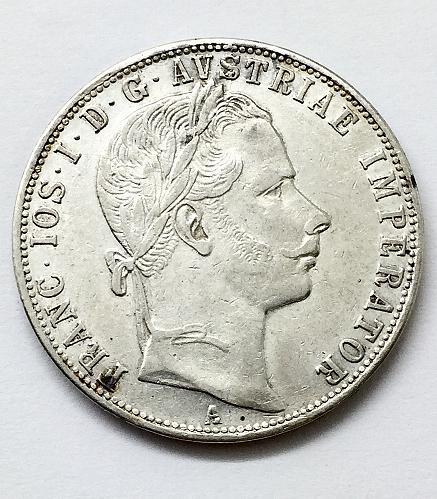 1860 A   Florin - Austria