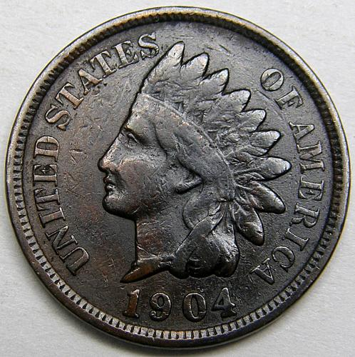 1904 Indian Head Cent #14