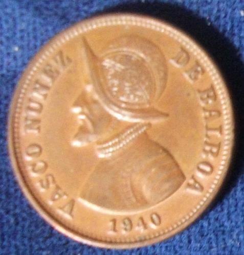 1940 Panama 1 1/4 Centesimo AU