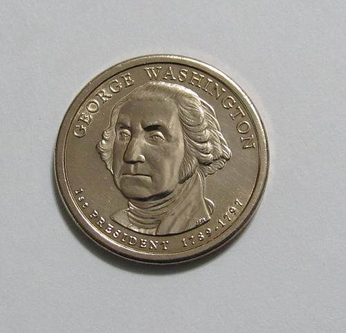 2007-D $1 - George Washington Presidential Dollar Coin