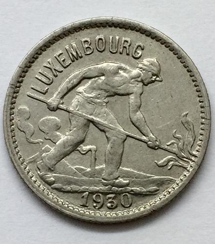 1930  50 Centimes - Luxembourg