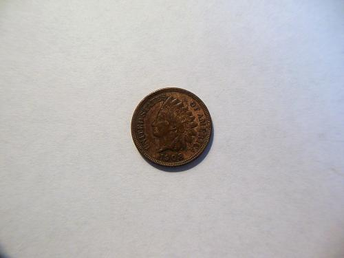 1908-P Indian Head Cent