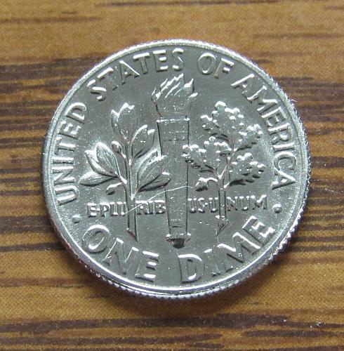 1974-D 10 Cents - Roosevelt Dime