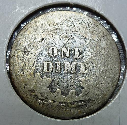1904-S Barber Dime (4828)