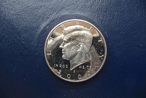 2000-S Kennedy Half Dollar