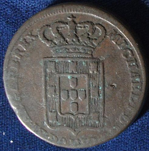 1829 Portugal 40 Reis Fine