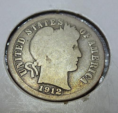 1912-P Barber Dime (4048)