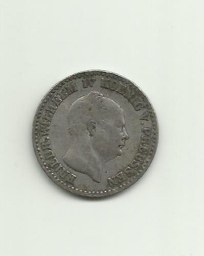 18582 1 2 Silber Groschen Silver Not A Misspelling