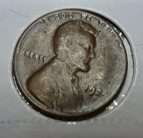 1924-D Very Good Lincoln Wheat Cent ( # 4125)
