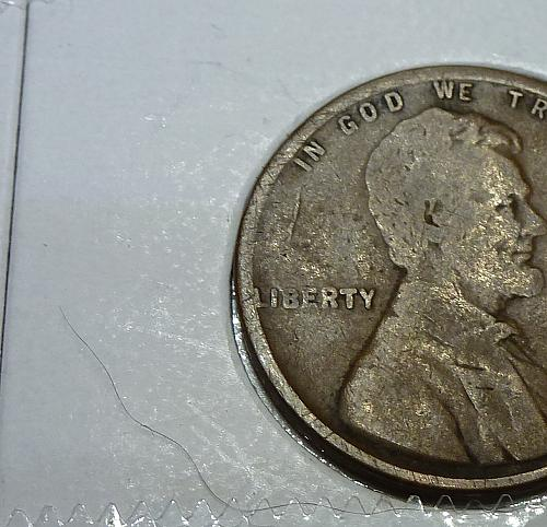 1912-S Very Good Lincoln Wheat Cent ( # 4110)
