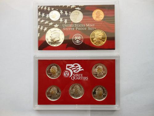 2006-S *Silver Proof* U.S. Mint Set in original box, cello & COA
