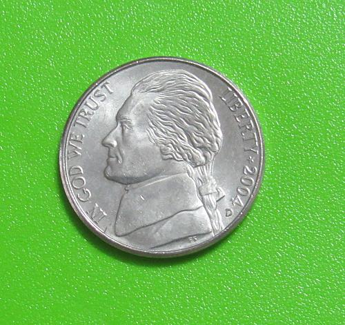 2004-D 5 Cents - Keelboat -  Lewis and Clark - Jefferson Nickel