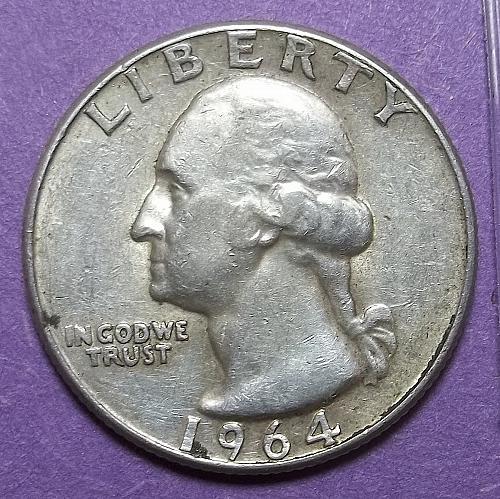 1964 P Washington Quarter Lot JQ5b2