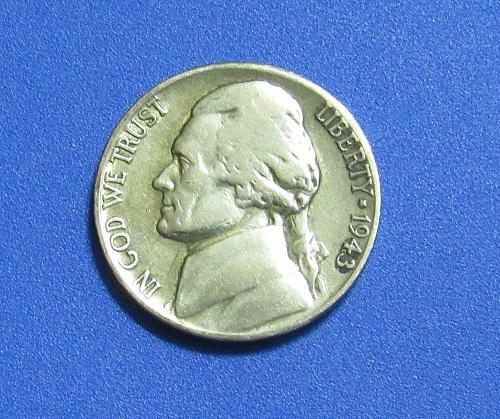1943-S 5 Cents - Jefferson Nickel