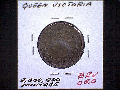 "1896 CANADA LARGE CENT  ""QUEEN VICTORIA"""