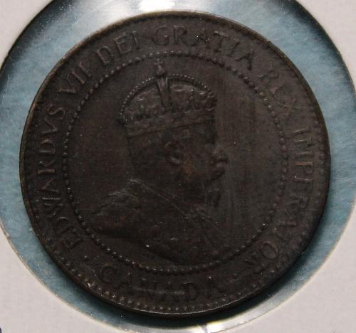 Canada 1907 Large Cent