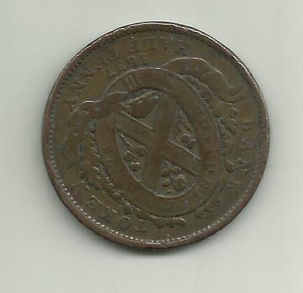 1837 Half Penny Canada