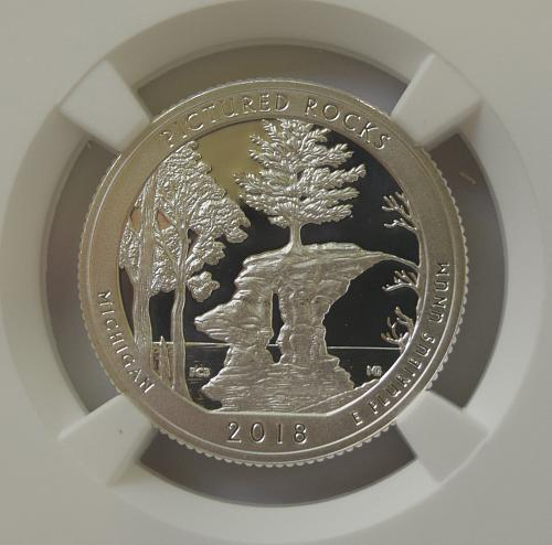 2018 S Pictured Rocks Silver Proof Quarter