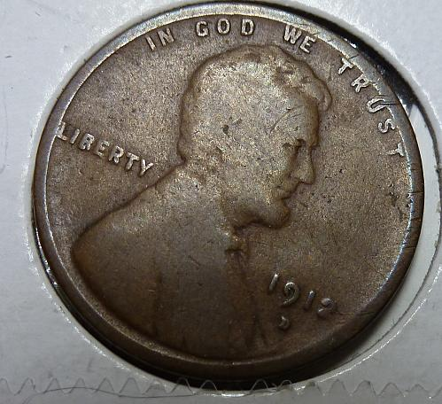 1912-D Good Lincoln Wheat Cent ( # 4108)