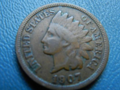 1907 Indian Cent-Use Any Grading Standard You Wish #9945