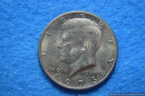 1973 P Kennedy Half Dollars