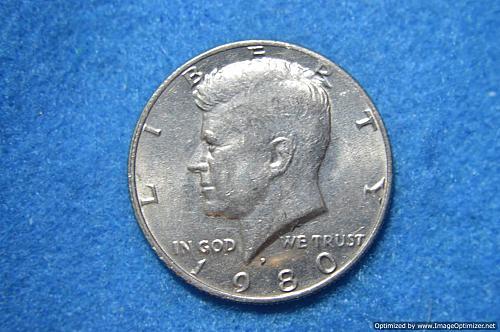 1980 P Kennedy Half Dollars