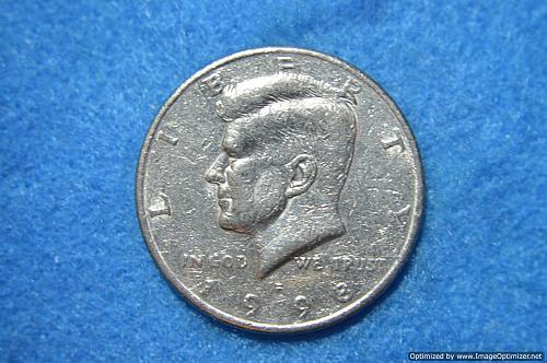 1998 P Kennedy Half Dollars