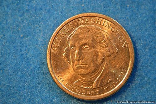 2007 D Presidential Dollars: George Washington