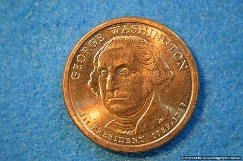 2007 P Presidential Dollars: George Washington