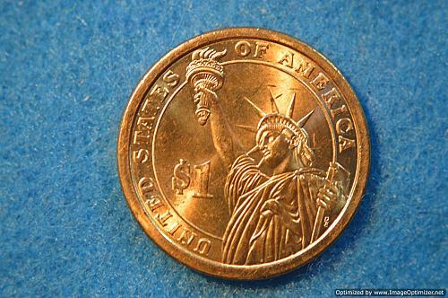 2007 D Presidential Dollars: John Adams