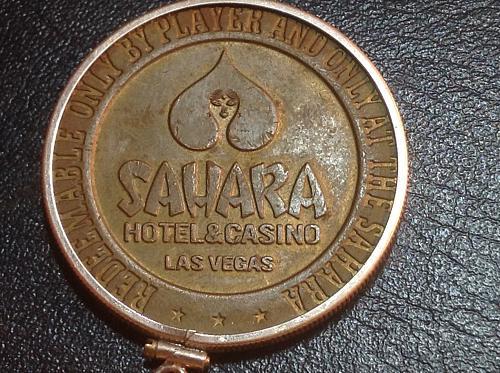 1966 Sahara dollar game token
