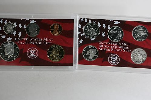 2002 - S  Silver 10 Piece Set