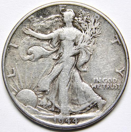 1946 P Walking Liberty Half Dollar #6