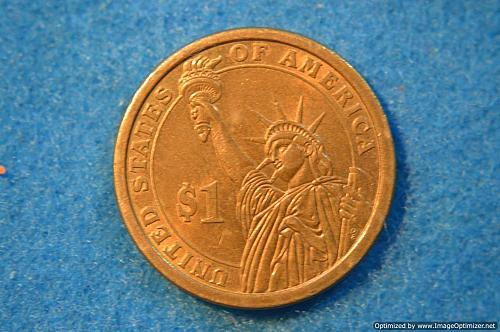 2008 P Presidential Dollars: John Quincy Adams