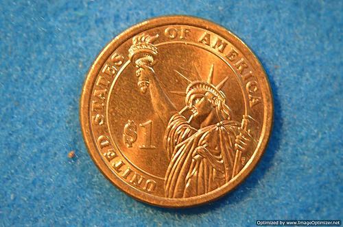 2009 D Presidential Dollars: Zachary Taylor