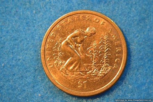 2009 D Sacagawea Dollars: Spread of Three Sisters Agriculture