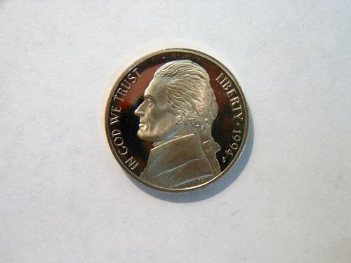1994-S Jefferson Nickel