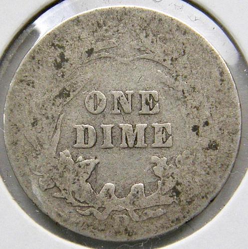 1908 D Barber Dime#1