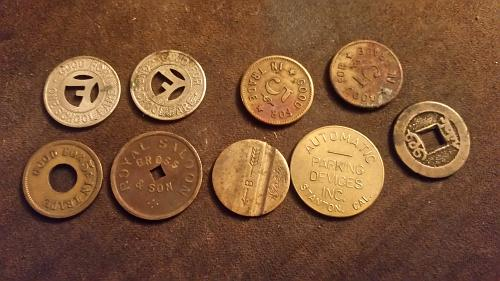 Different tokens