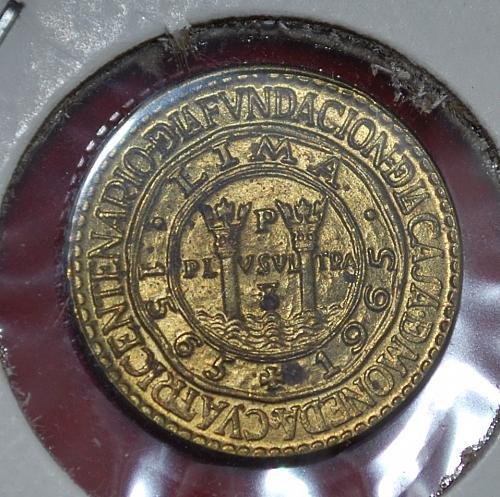 peru 5 centavos 1965