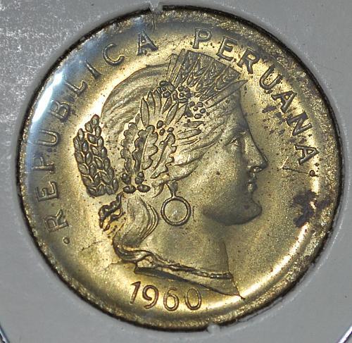peru 10 centavos 1960