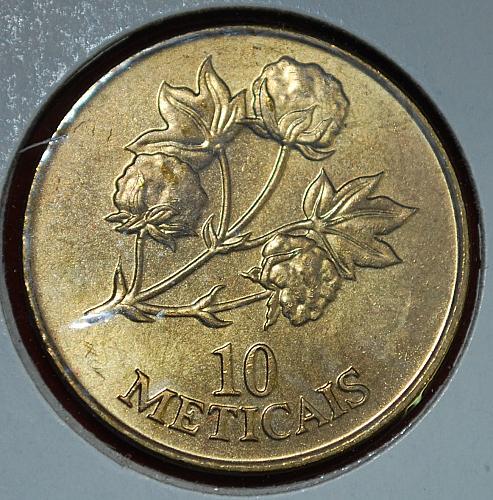 1994 Mozambique 10 Meticais