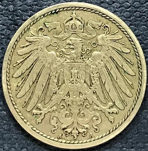 German Empire = 1912 A = 10 Pfennig