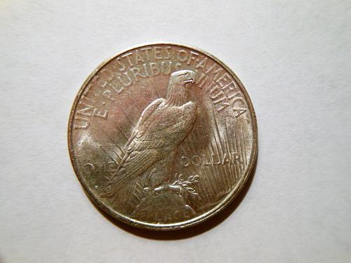 1922-D Silver Peace Dollar