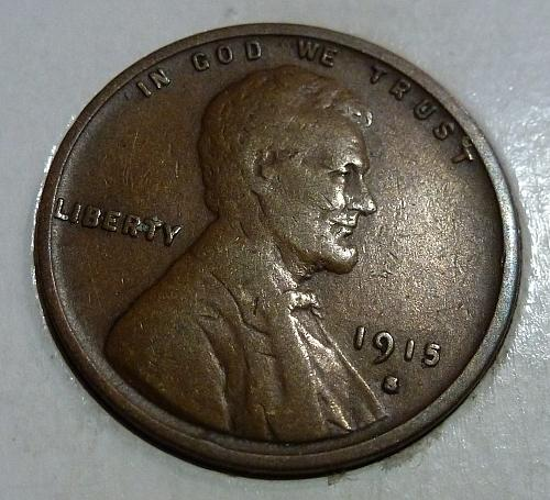 Here is a  F 1915-S  Fine Lincoln Wheat Cent  (  H6312 )